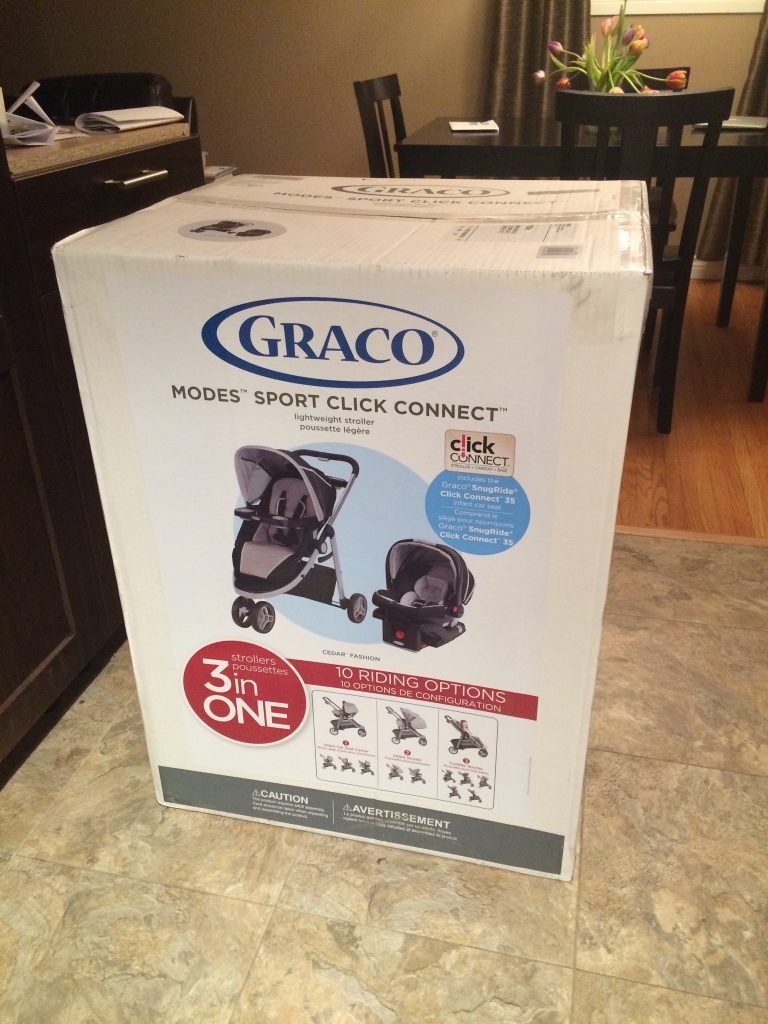 Car Seat Converts To Stroller >> Review: Graco Modes Sport Click Connect Travel System   Mommy Connections