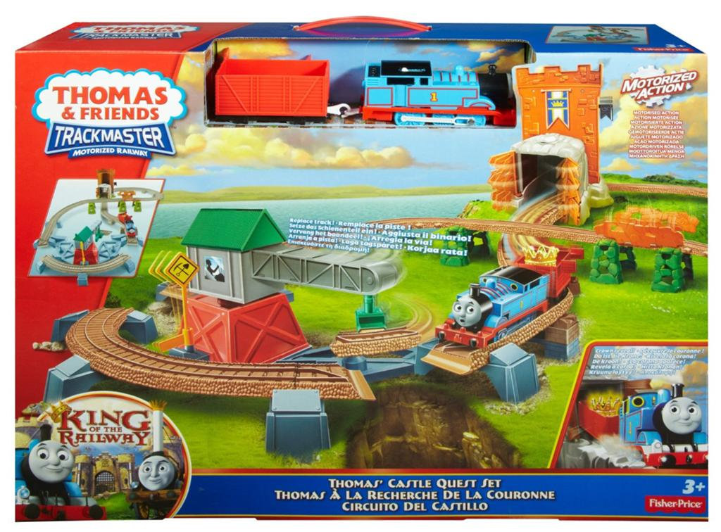 Thomas & Friend TrackMaster Castle Quest Review   Mommy ...