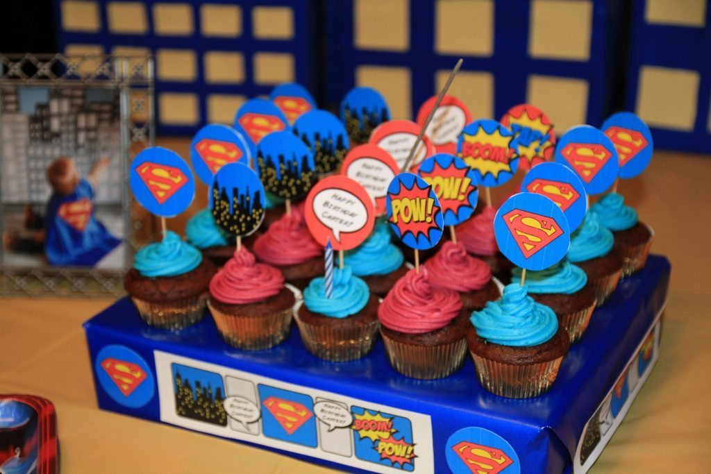 Superman First Birthday Cakes