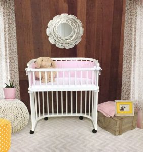 Babybay Bedside Sleeper A Crib That Can Attach To Your