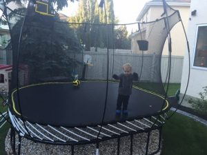 Review Springfree Trampoline 11 Foot Square Large