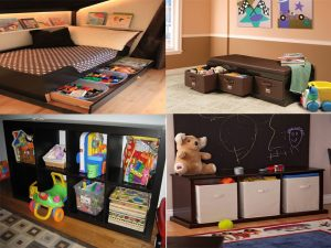 11 clever toy storage ideas for living room mommy connections for Storage for toys in living room